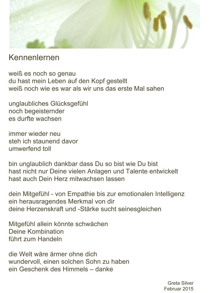 Gedichte über das kennenlernen [PUNIQRANDLINE-(au-dating-names.txt) 64