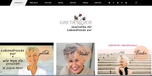 Greta Silver Webseite